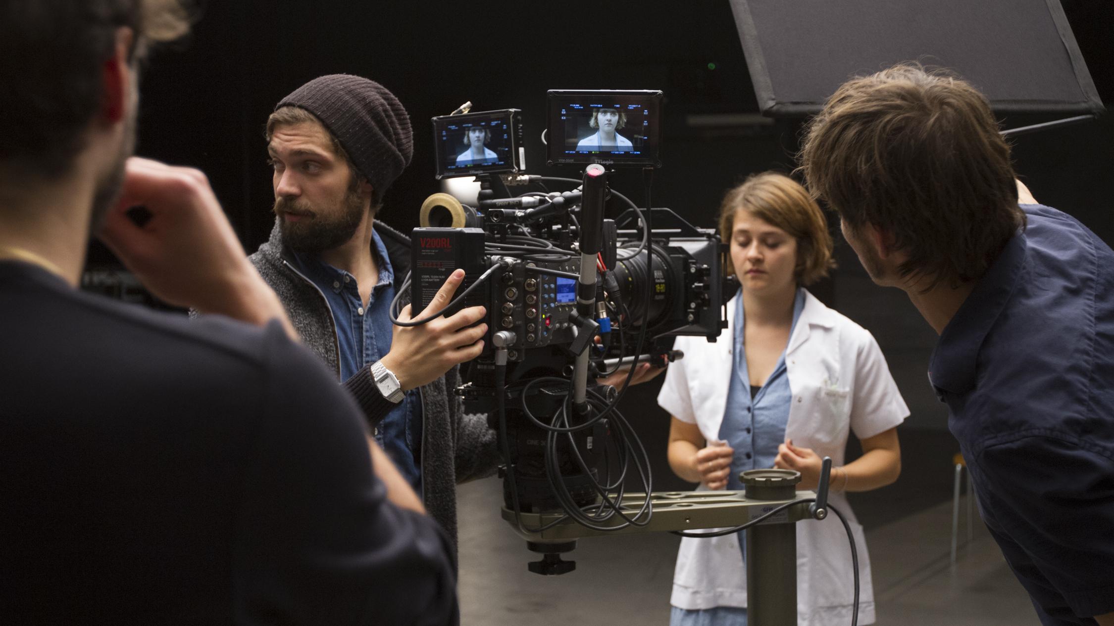 Testing the new Filmstudio on ZHdK