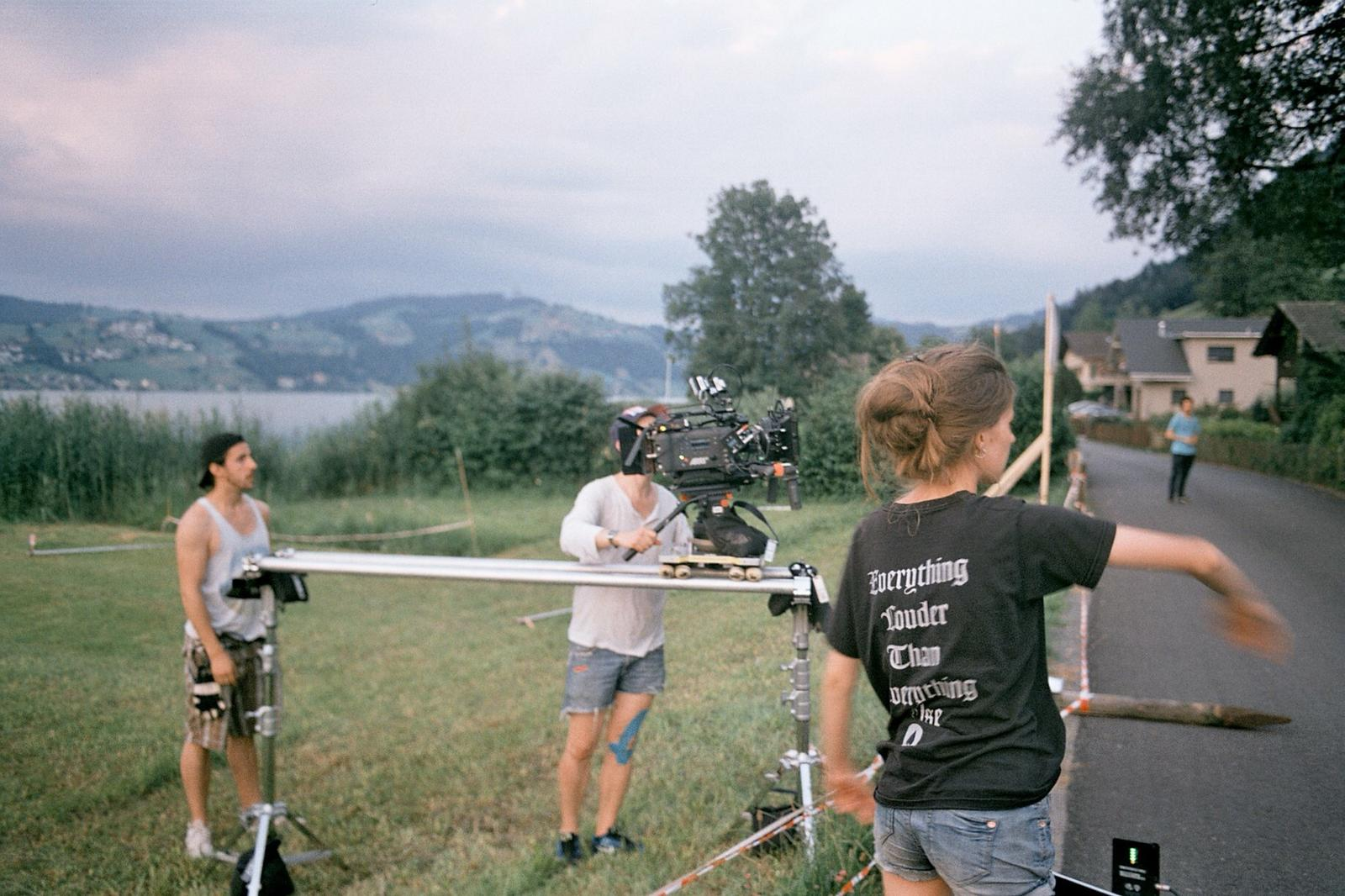 "On filmset ""Rückkehr (AT) """