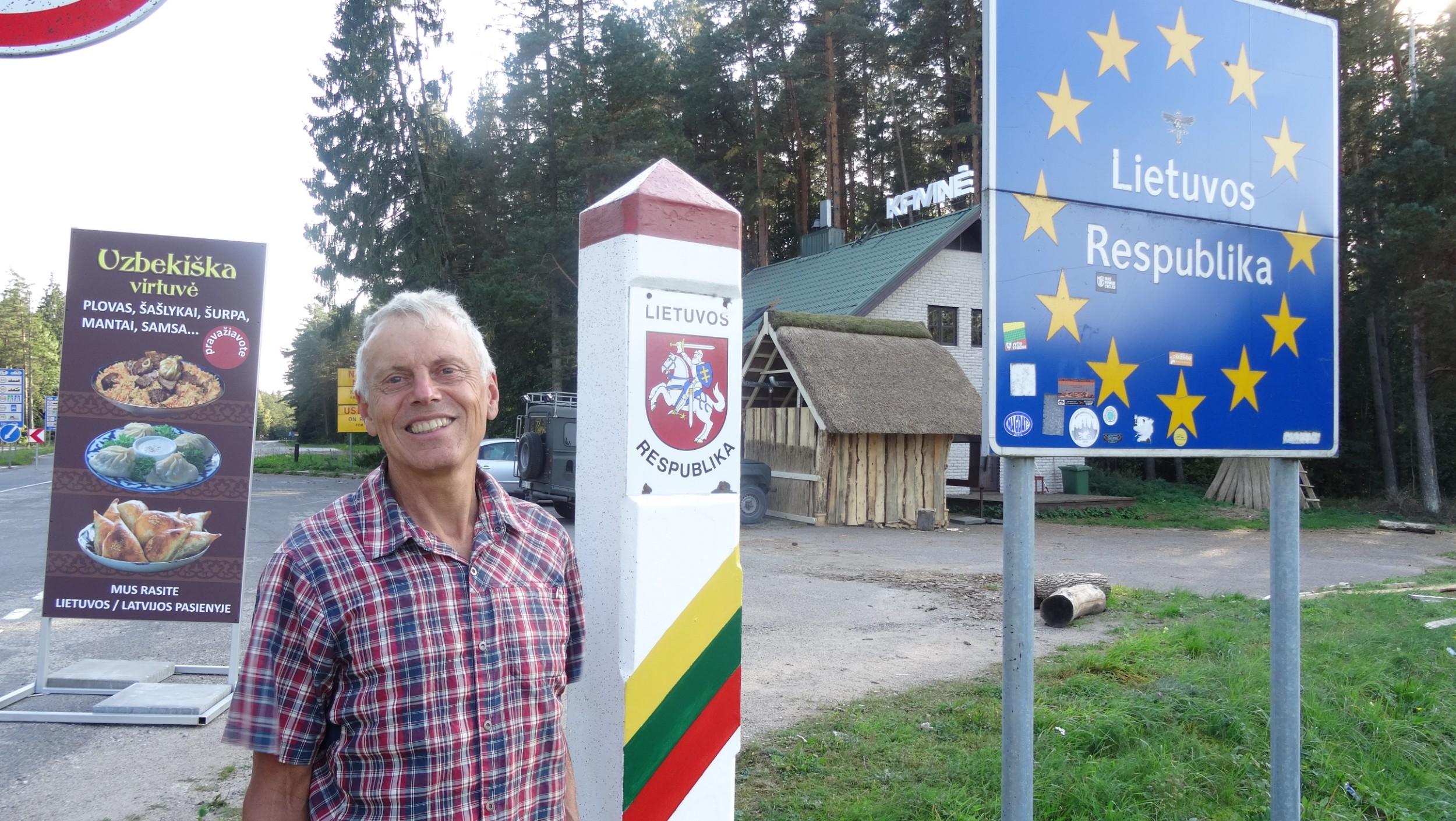 Latvia / Lithuania border