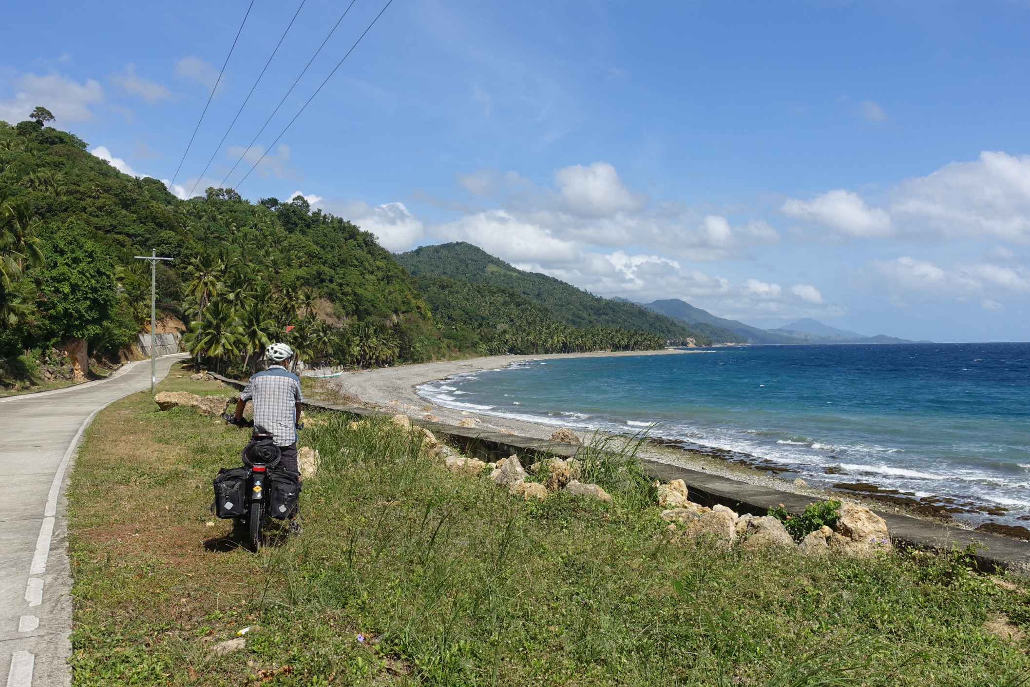 Another long coast road; this one on Tablas Island