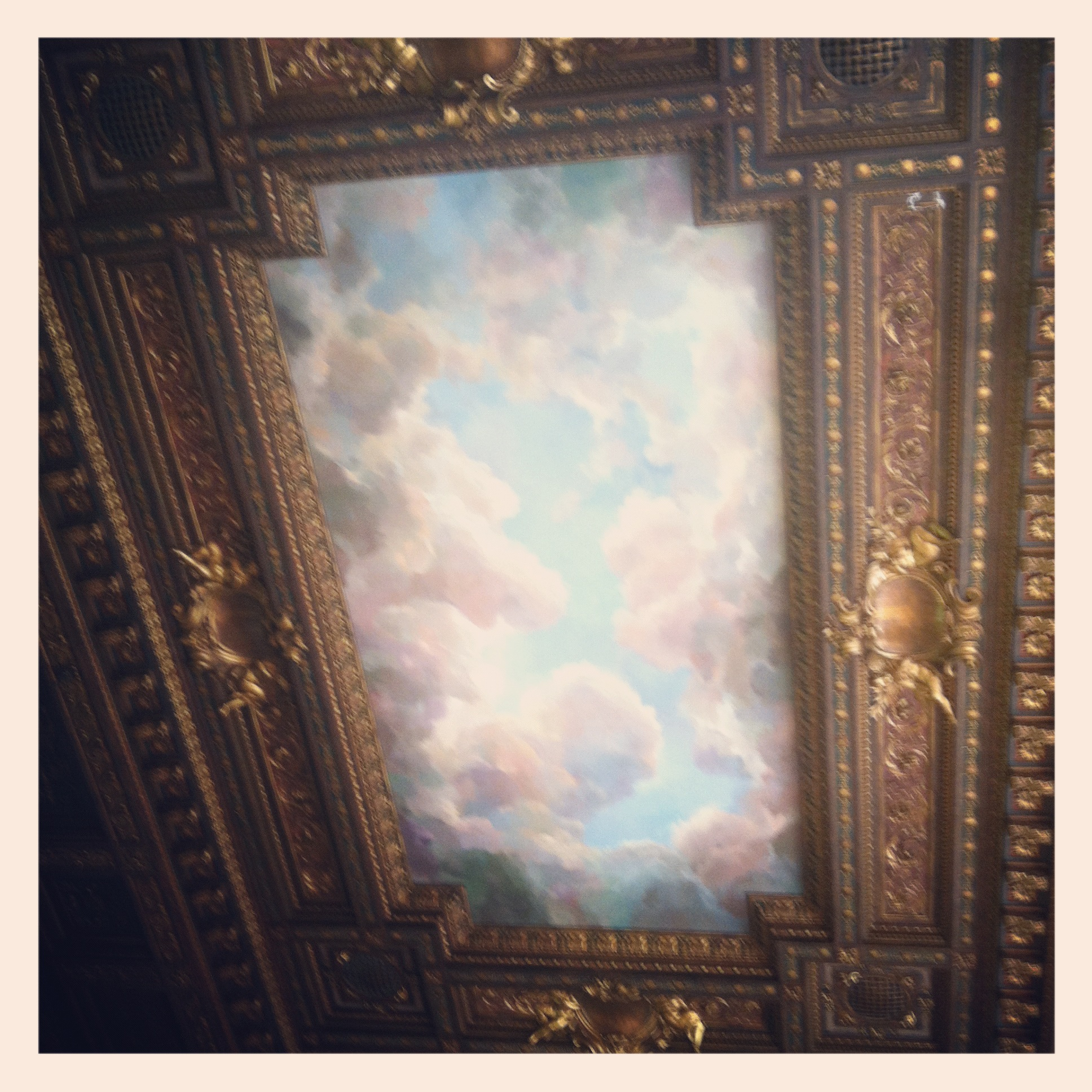 One of my favorite views in New York City: the ceiling in the Rose Reading Room, NYC Public Library.