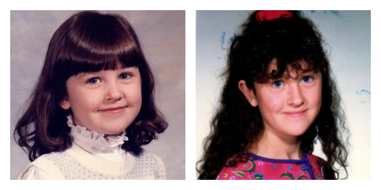 My Bangs: A Tragedy in two parts: from BOSS to BOMB. Thankful the internet didn't exist in the early 1990's.