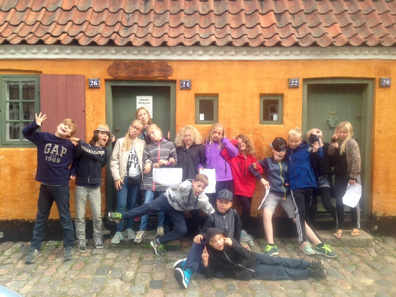 'Vi vil høre mere'eller 'endelig slut' efter tur i Nyboder? Døm selv:-) Foto: Inge Panduro.