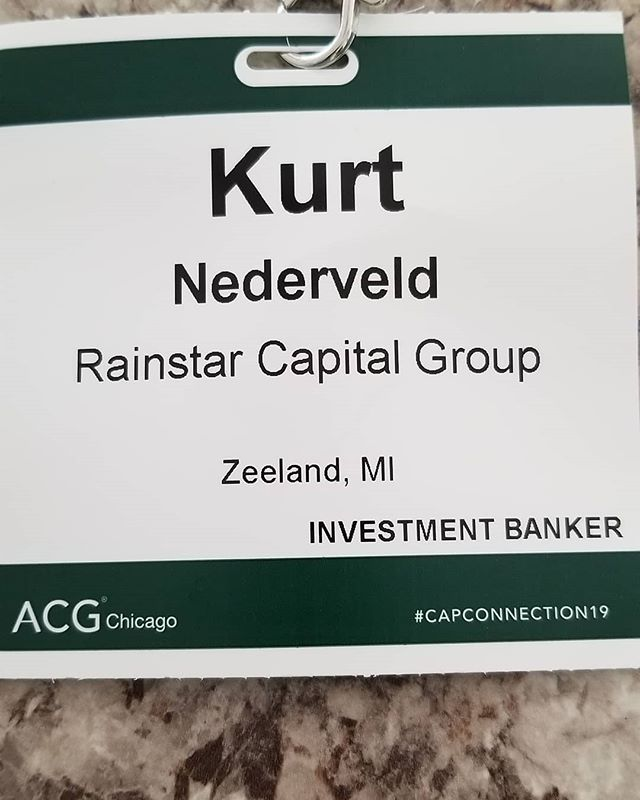 Rainstar Capital Groupnis an active member in the Association for Corporate Growth!