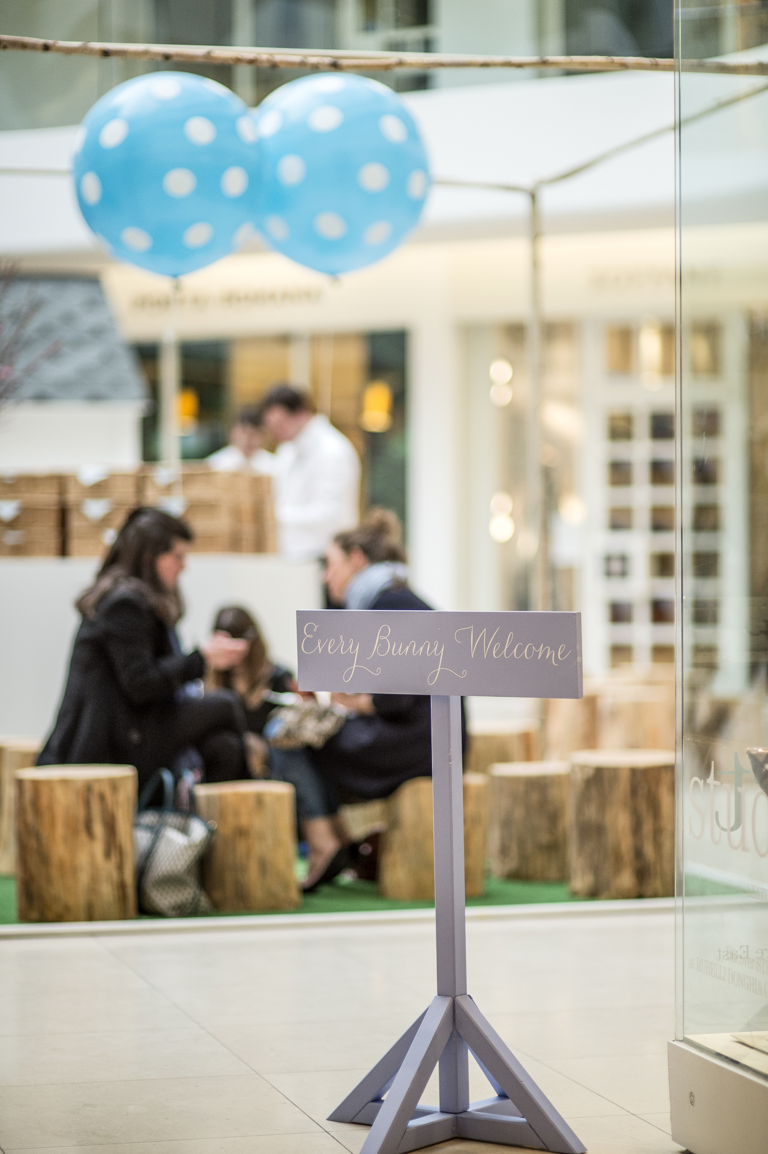 Bolter Design sign post design for The Design Centre