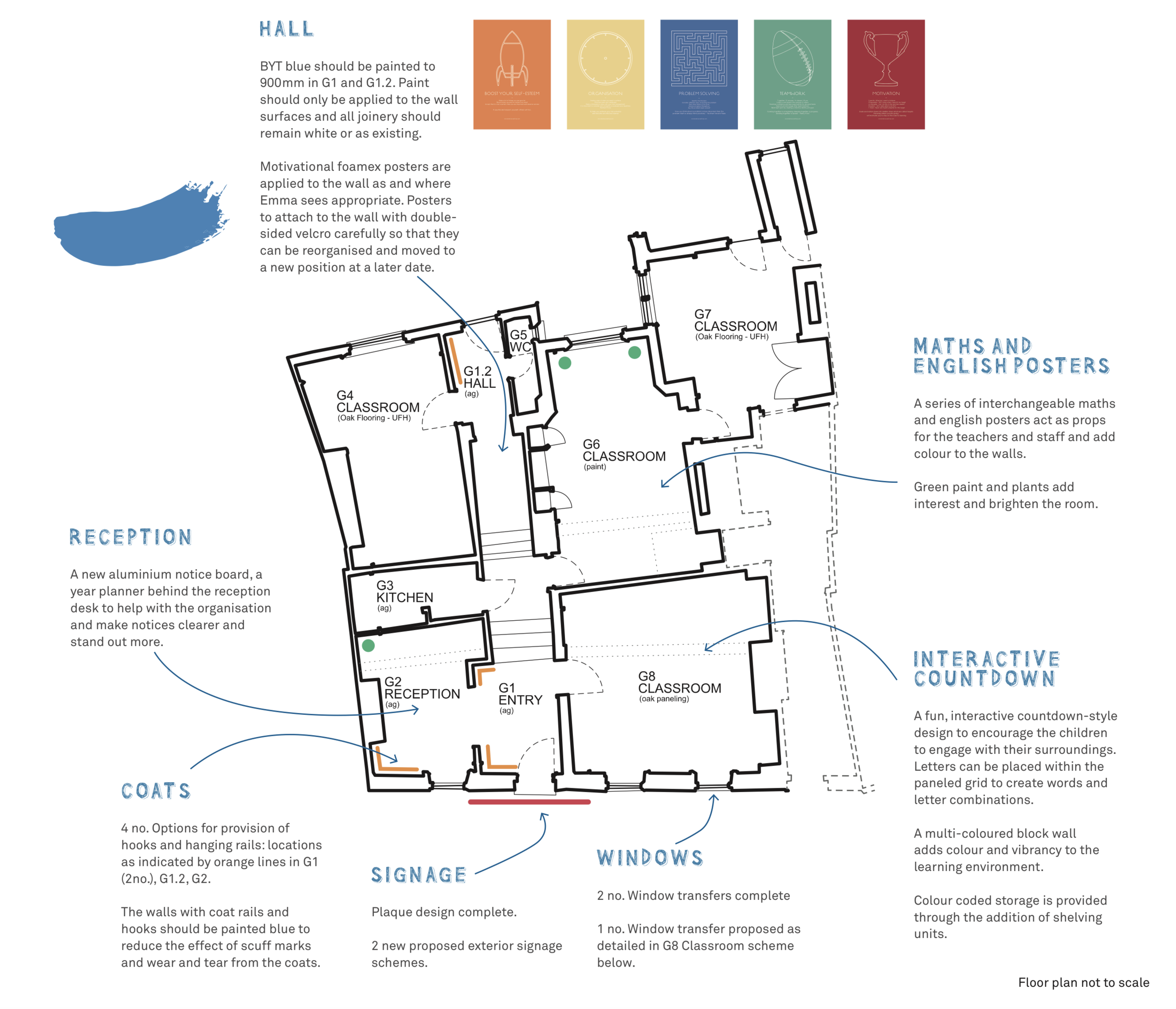 Bolter Design way-finding map design for Bright Young Things