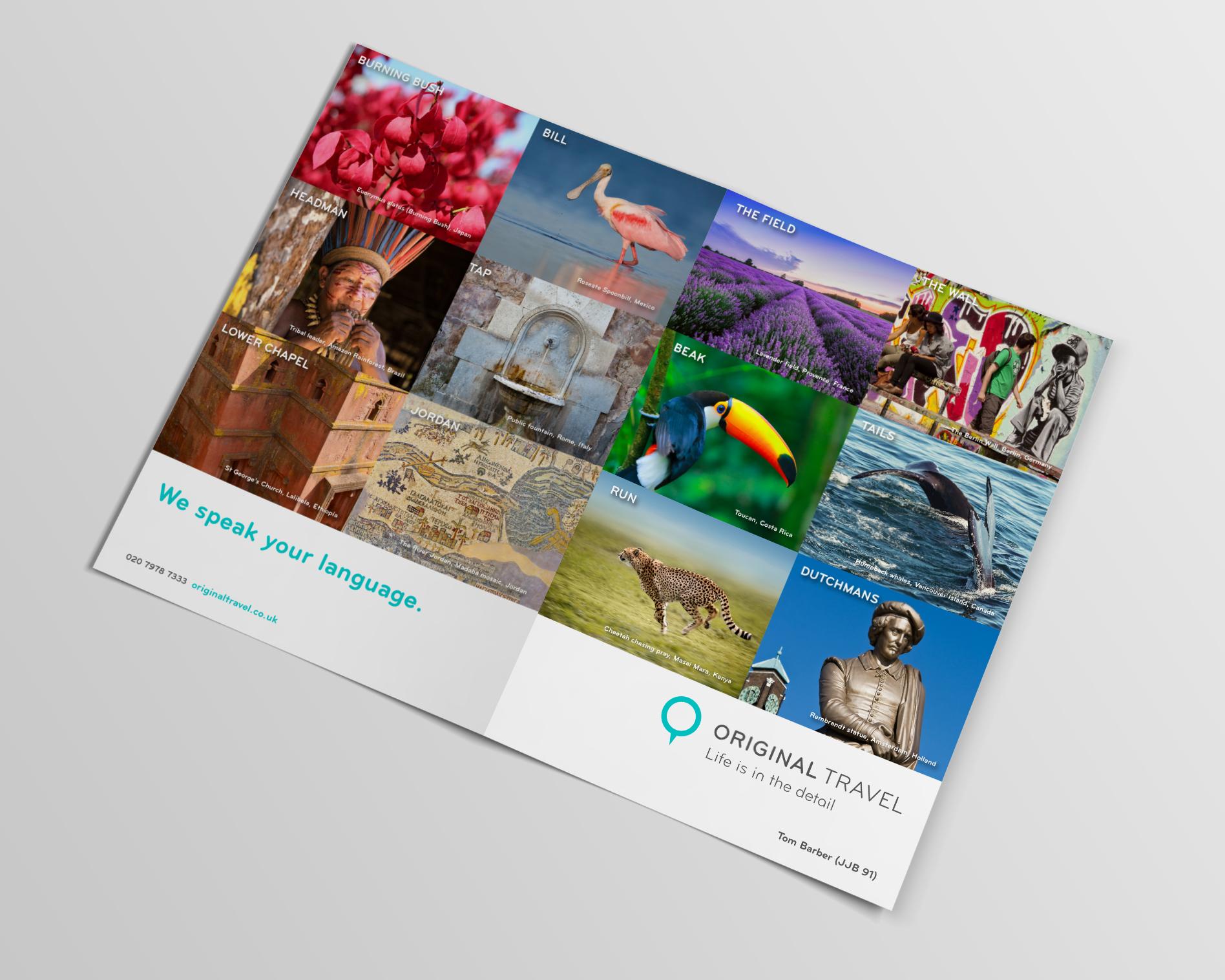 Bolter Design print design Original Travel