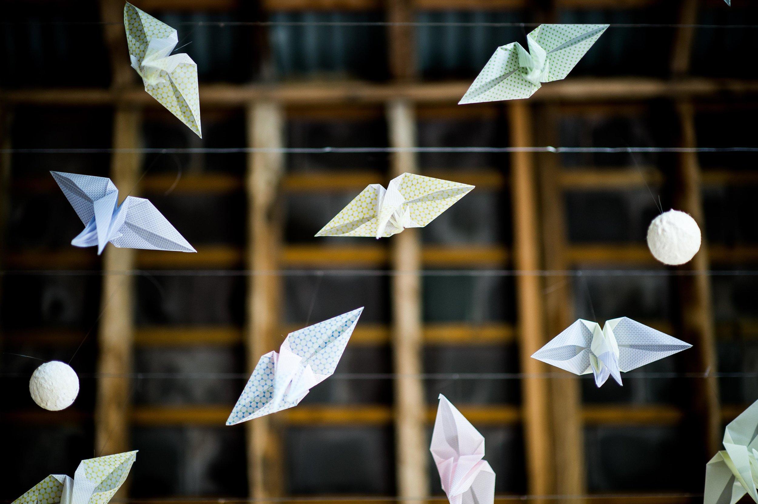 Bolter Design origami installation design