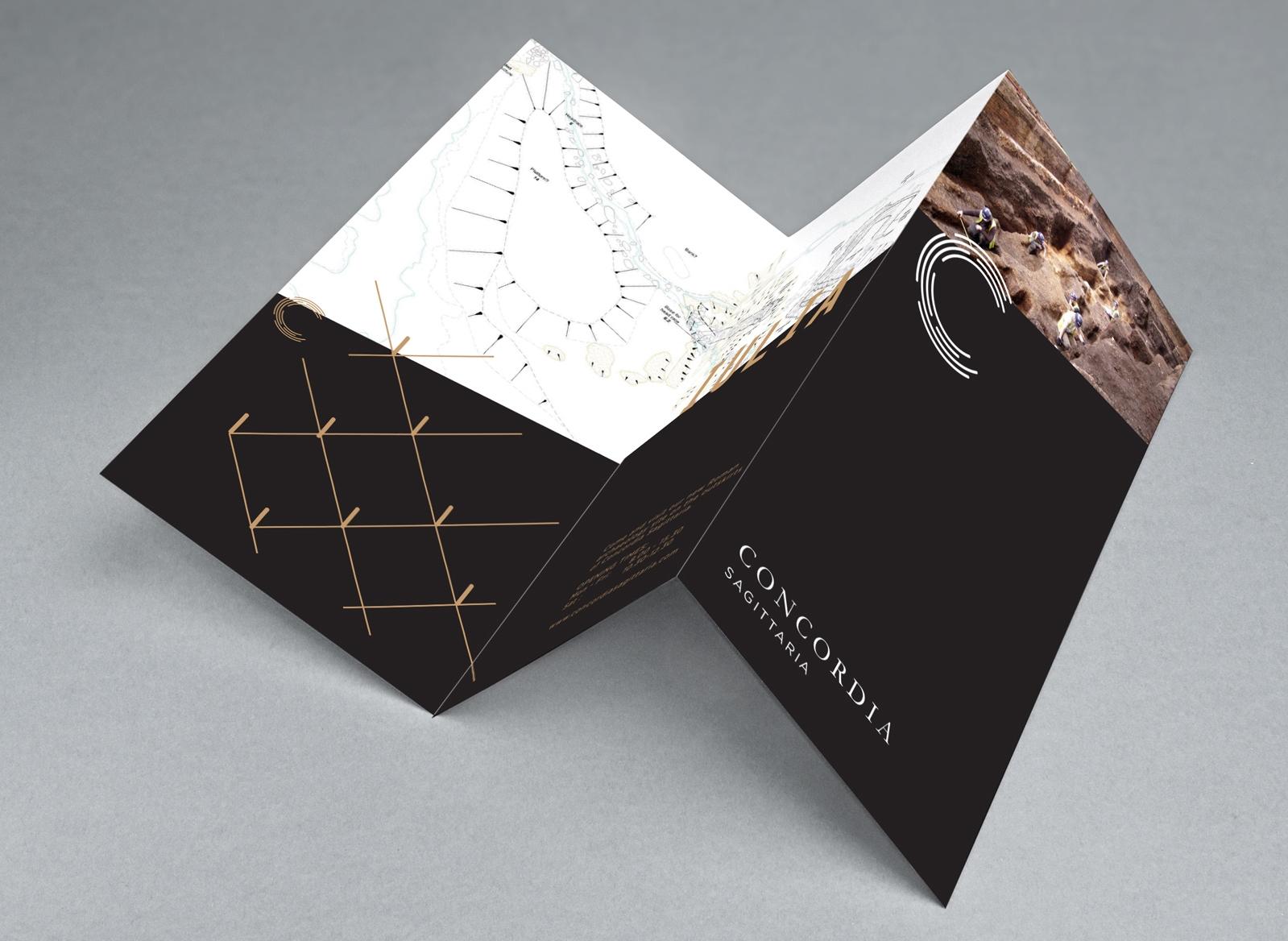 Bolter design brochure design for Concordia Sagittaria