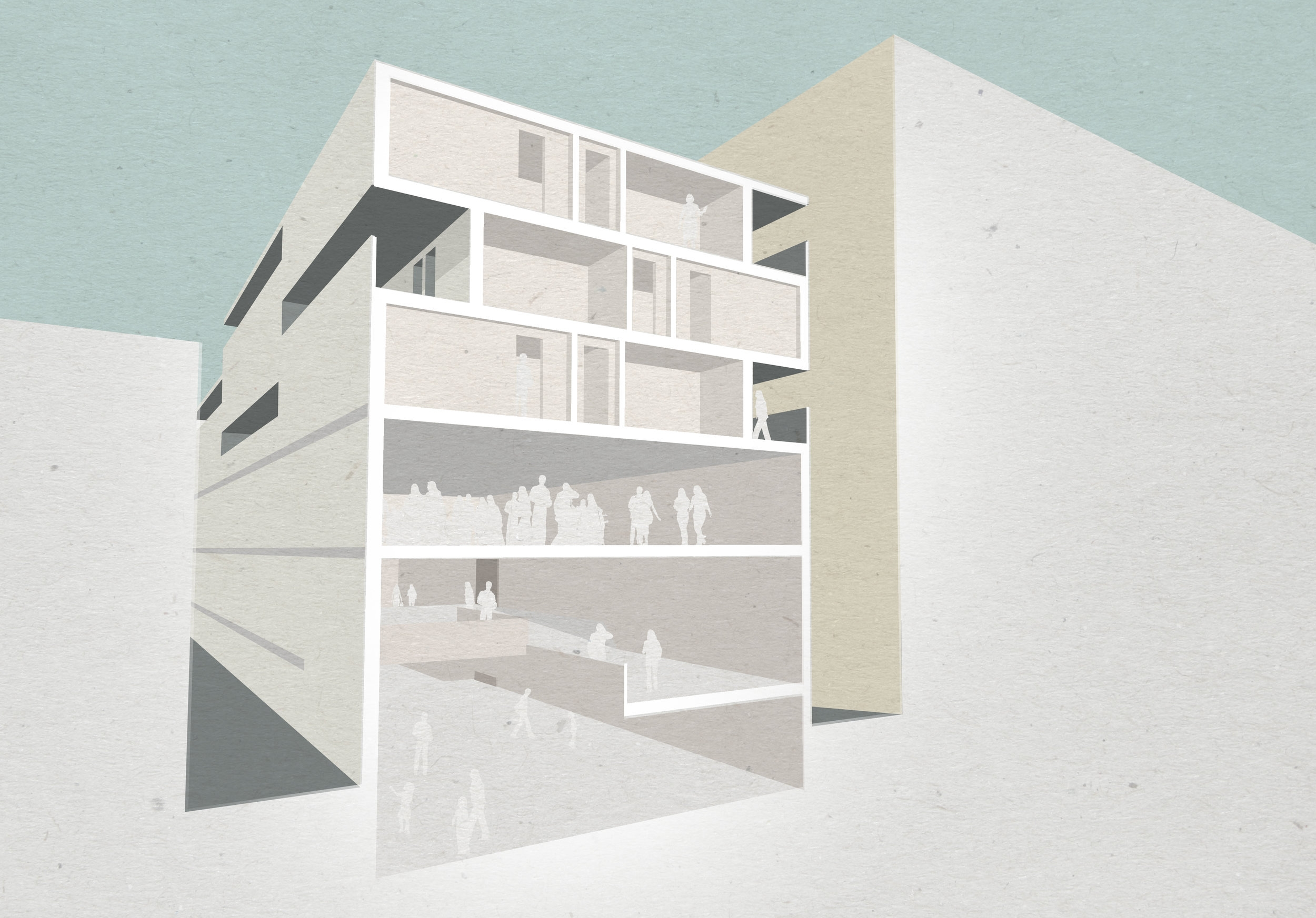 Bolter Design interior architecture for Symes Mews, Camden