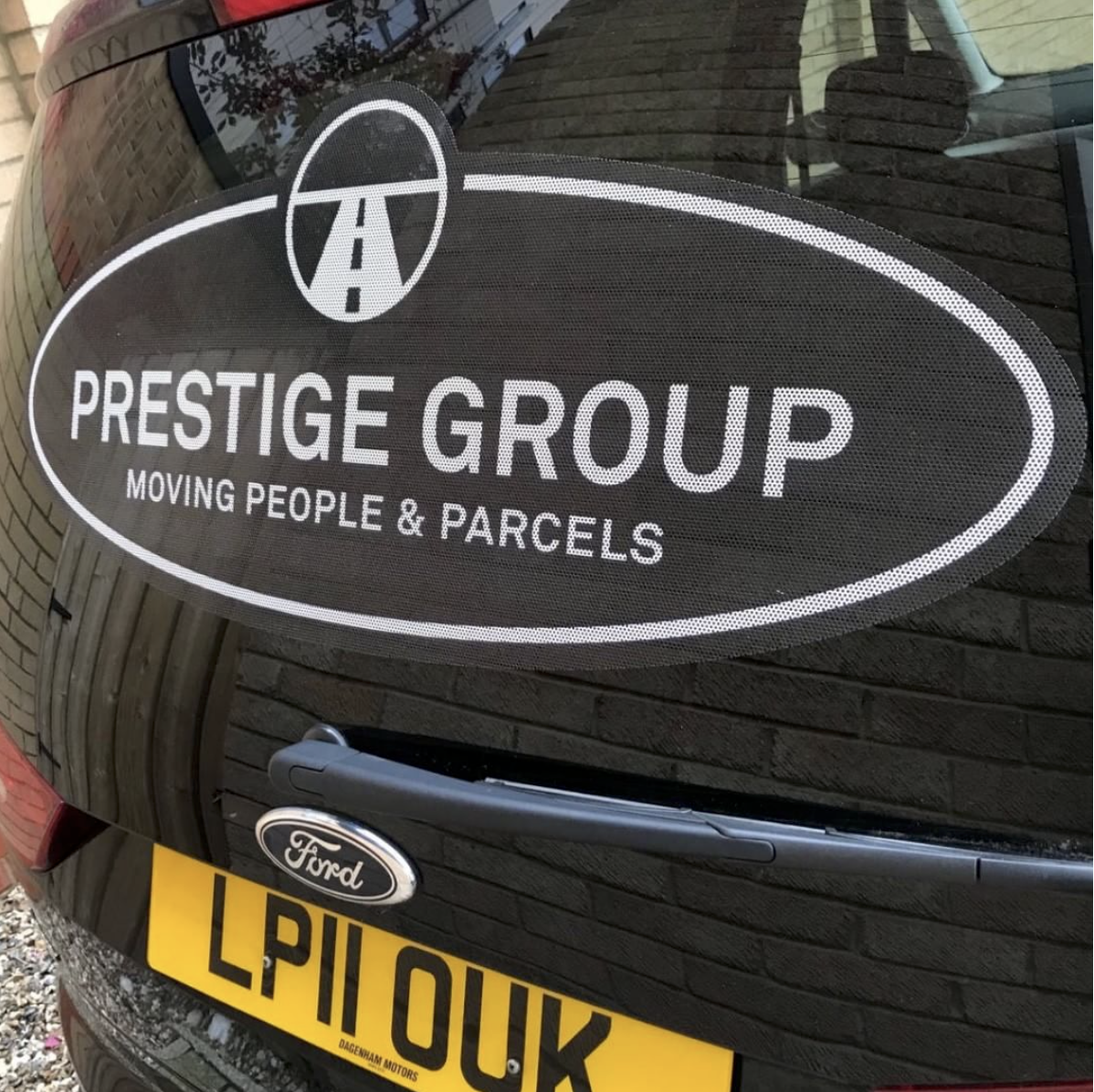 Bolter Design logo design for Prestige Cars