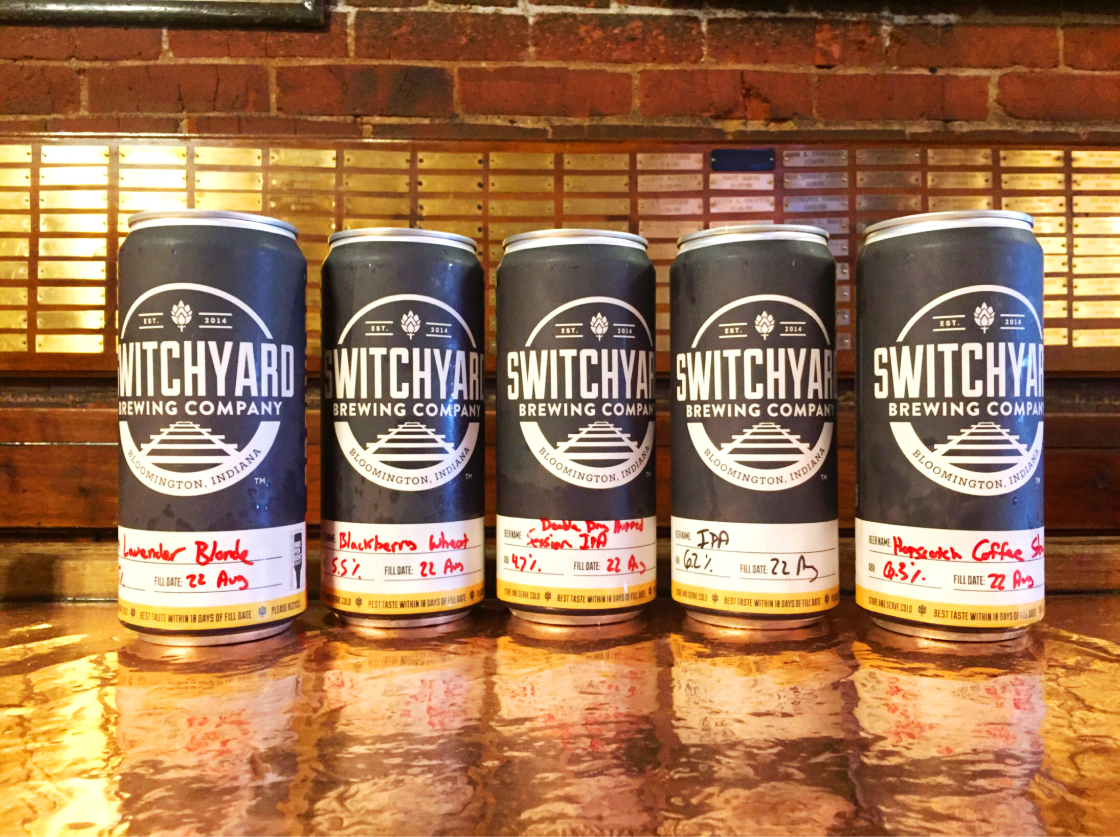 Calling all Switchyard fans! Pencil us onto your schedule and join us for our first tapping party at  Crazy Horse - Around the World in Eighty Beers in downtown Bloomington!  Meet the team, grab some free Switchyard swag, enjoy dinner and a few pints of your favorite Switchyard beer!  See you soon!