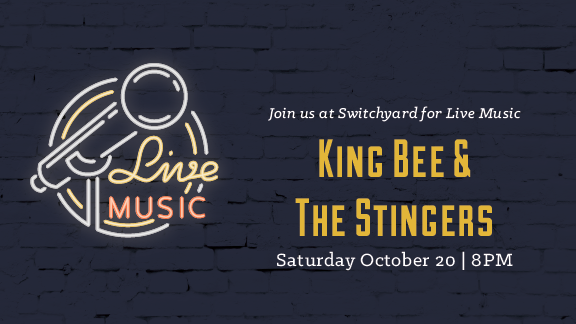 Join us after dinner for live music in the taproom!