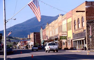 Main Street,Red Lodge, Montana ©Wikipedia