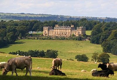 present day pasture on English estate, flicker.com
