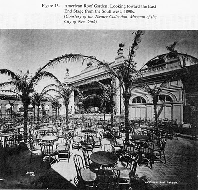 "reprinted from ""The Roof Gardens of Broadway Theatres"", Steven Bruge Johnson."