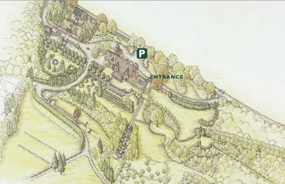 map from Naumkeg website
