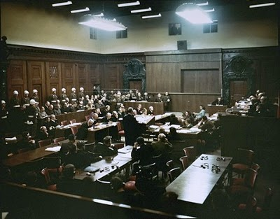 Images of the actual War Crimes room