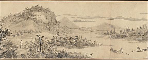 """Joys of the Fisherman"", Wang Fu 1410"