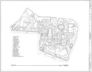Plan of Dumbarton Oaks