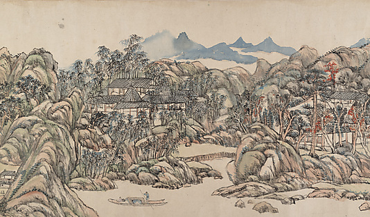 """Summer Mountains"" Qu Ding  mid 11th century"