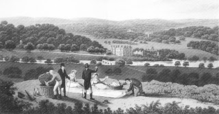 Humphrey Repton, General View of Longleat, Stapelton Collection