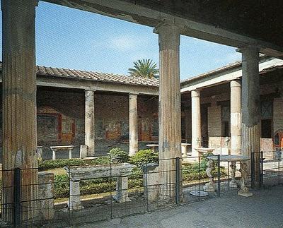 Roman peristyle, www.kmkz.com