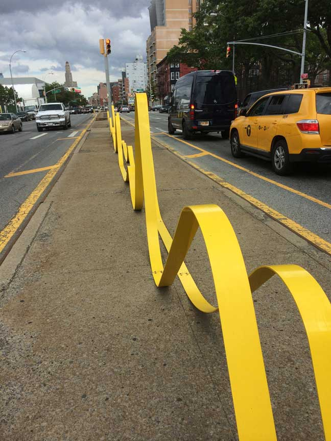 Left turns across the double yellow line here!  ©ToddHaimanLandscapeDesign2014