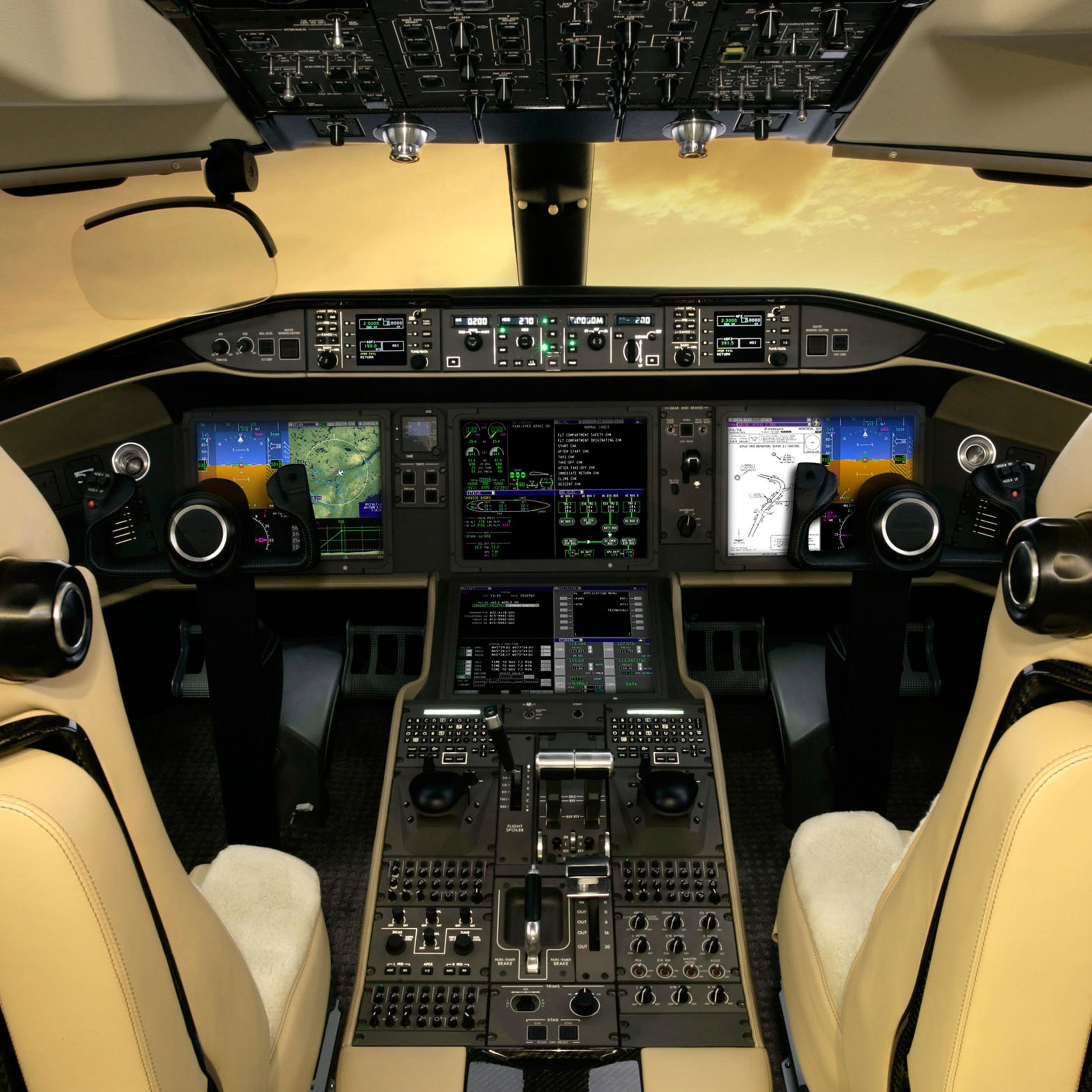 Global Vision Flight Deck