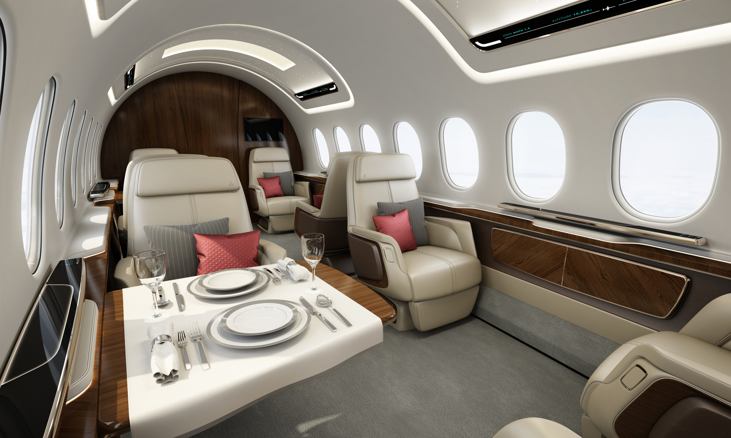 Aerion AS2 Interior - Design Q