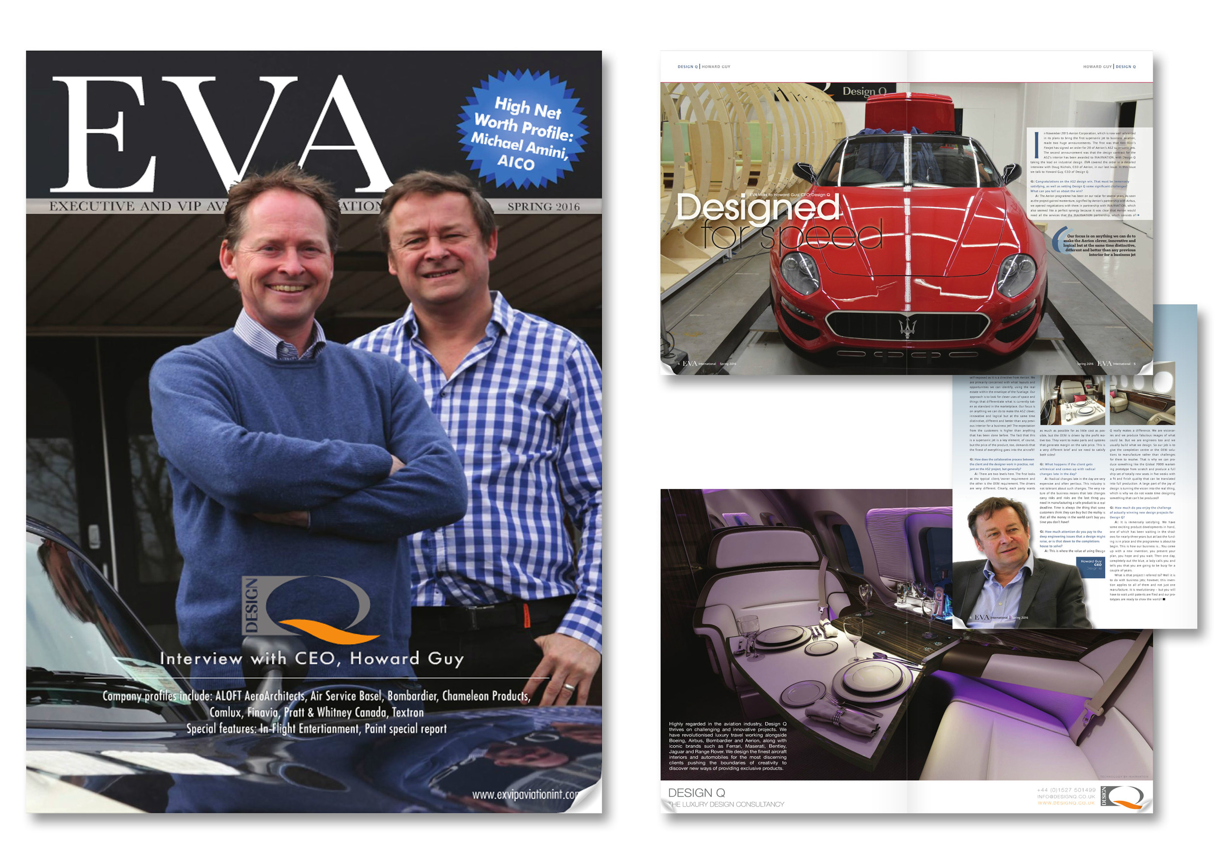 EVA Magazine Cover Spring 2016