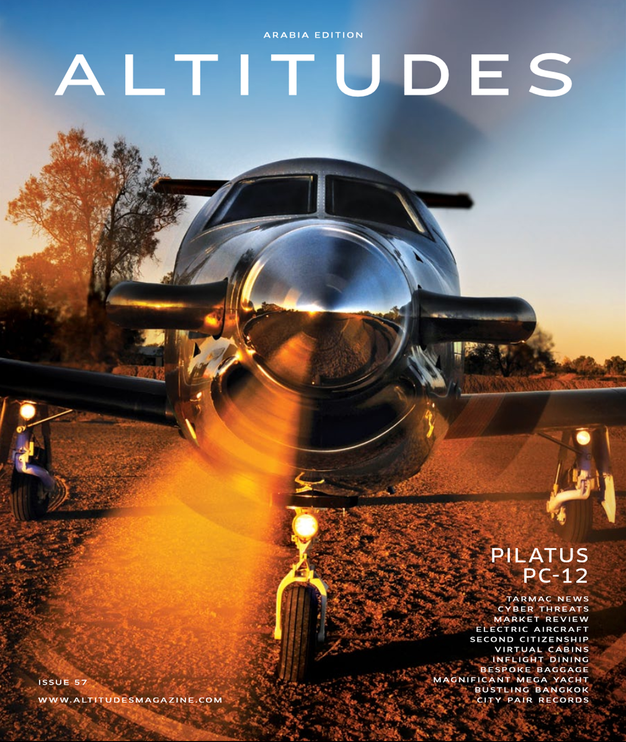 Altitudes Magazine - The Jet Business - Design Q