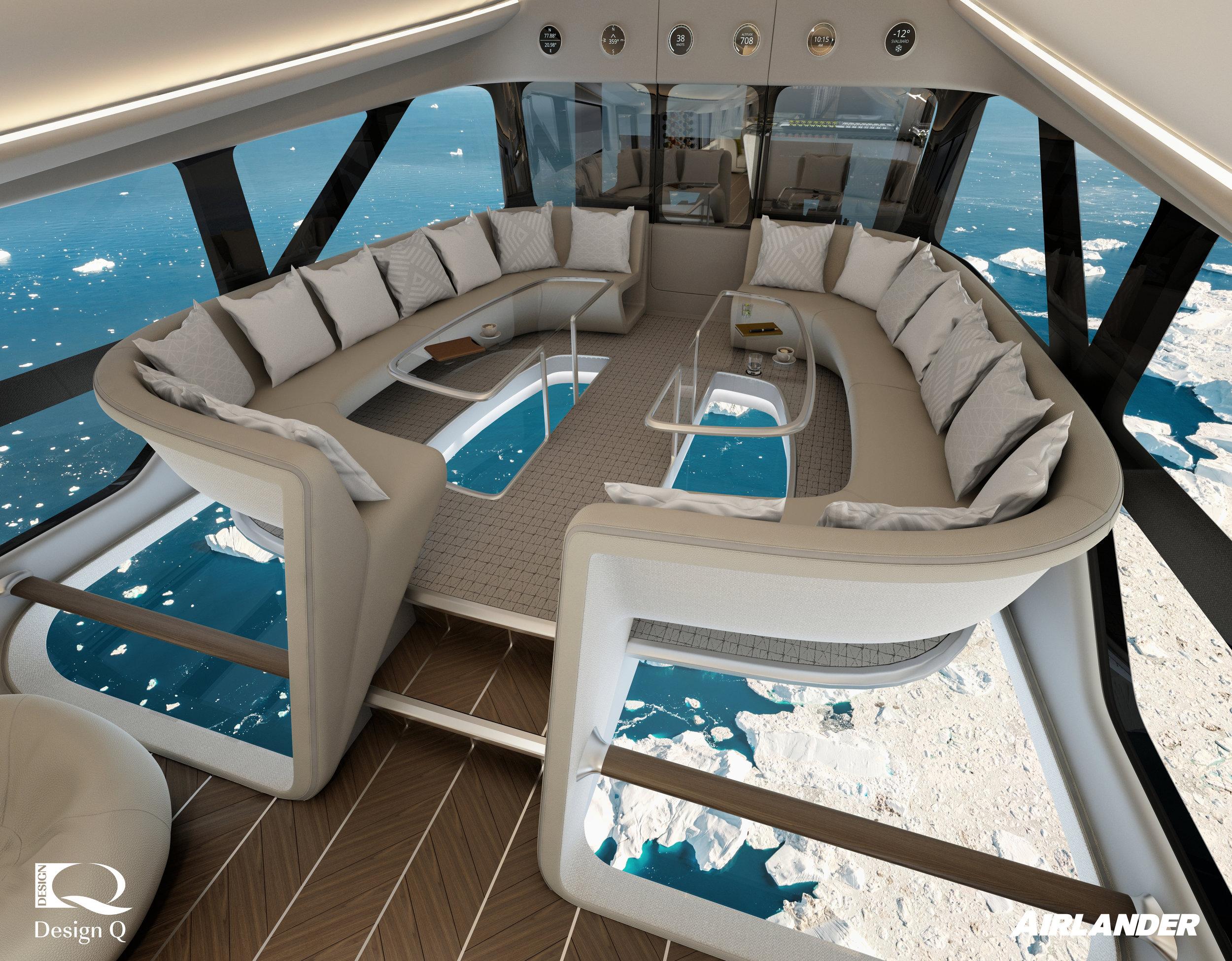 Airlander 360 Bistro by Design Q