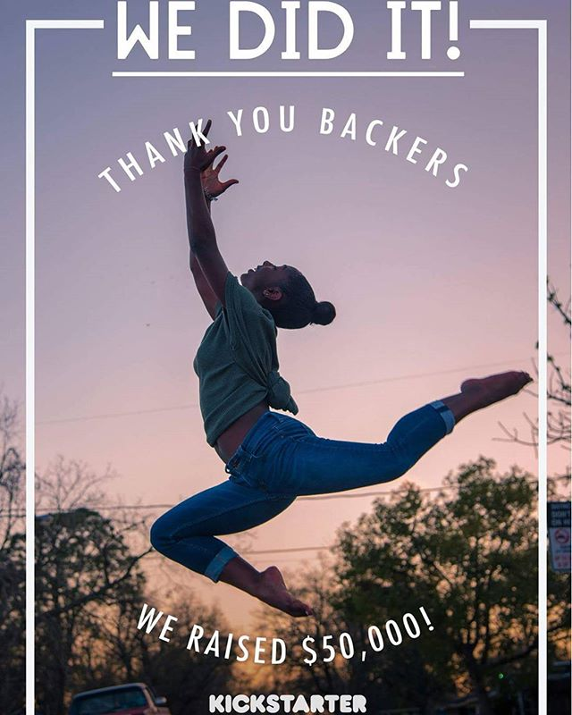 We did it!! We reached our goal of $50,000! Thanks to all of our backers, supporters, artists, advisors, interns, and friends for helping us get here! You can still donate until midnight, and anything we raise after the $50k will still go towards production - this is just the beginning! (Kickstarter link in bio!) #environmentaljustice #spokenword #documentary #contemporarydance #gulfcoast #film