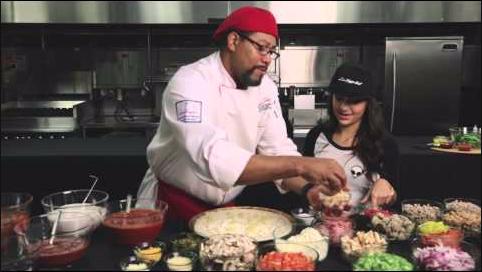 Andrea Russett: INVADING PIZZA HUT HEADQUARTERS