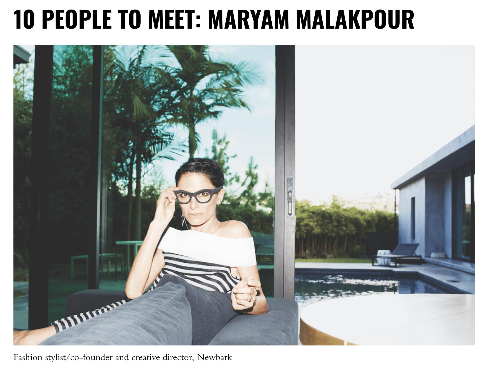 10 Magazine - 10 PEOPLE TO MEETphoto: Maria Ziegelboeckread more