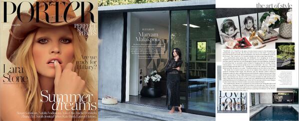 Porter Magazine - photo: Annabel Mehranread more