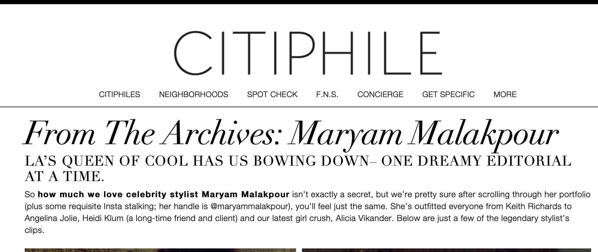 CITIPHILE - read more