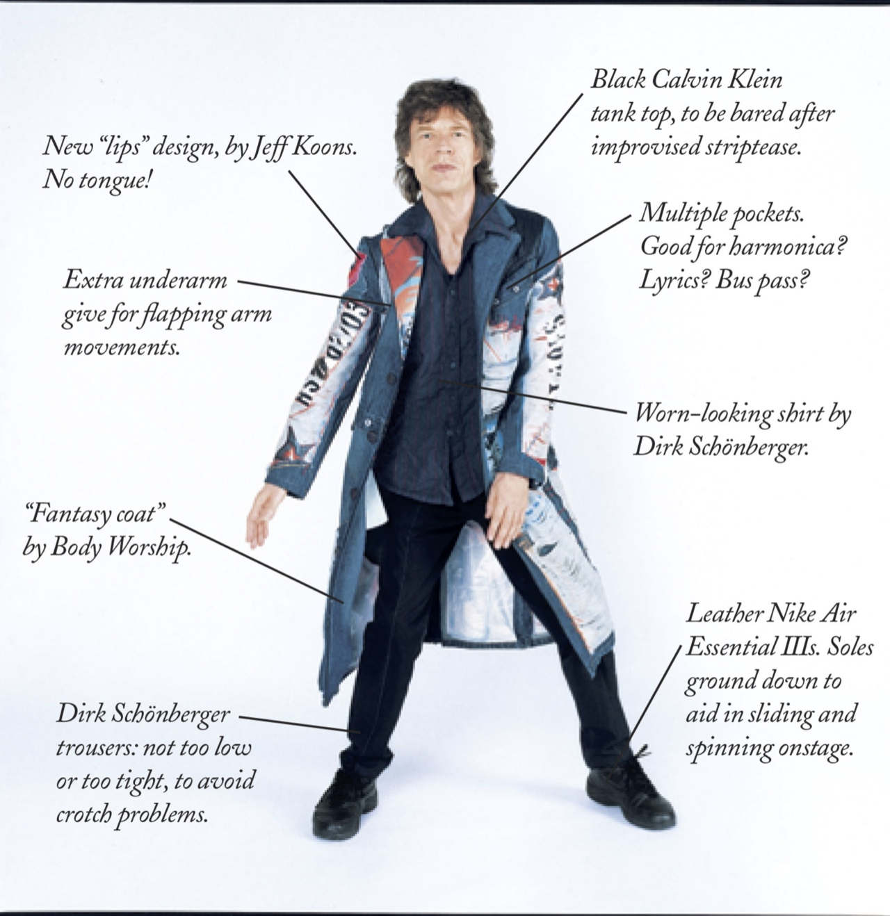 New Yorker - Mick Jagger Performanceread more