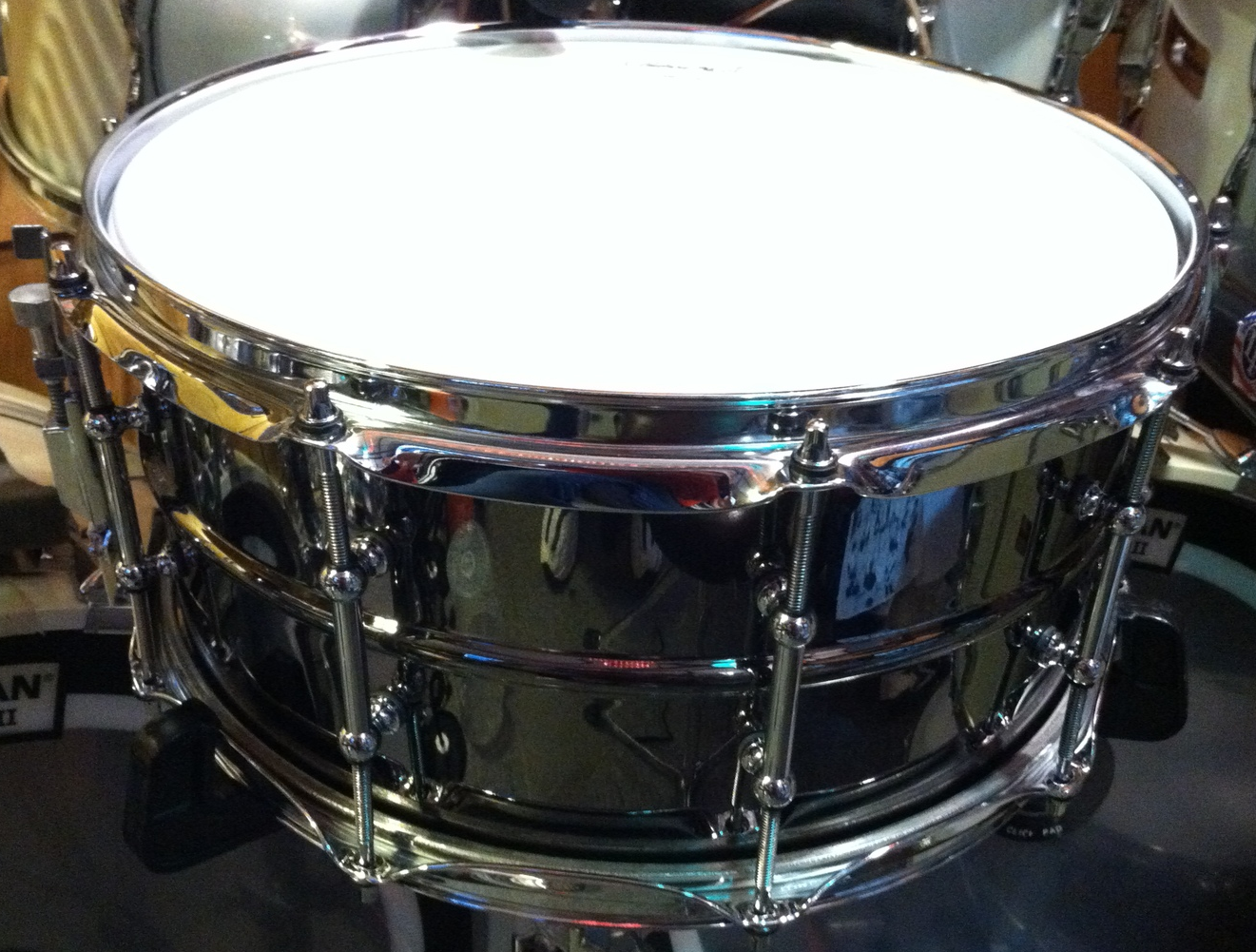 "Ludwig ""Black Beauty""  6.5x14 (2012)"