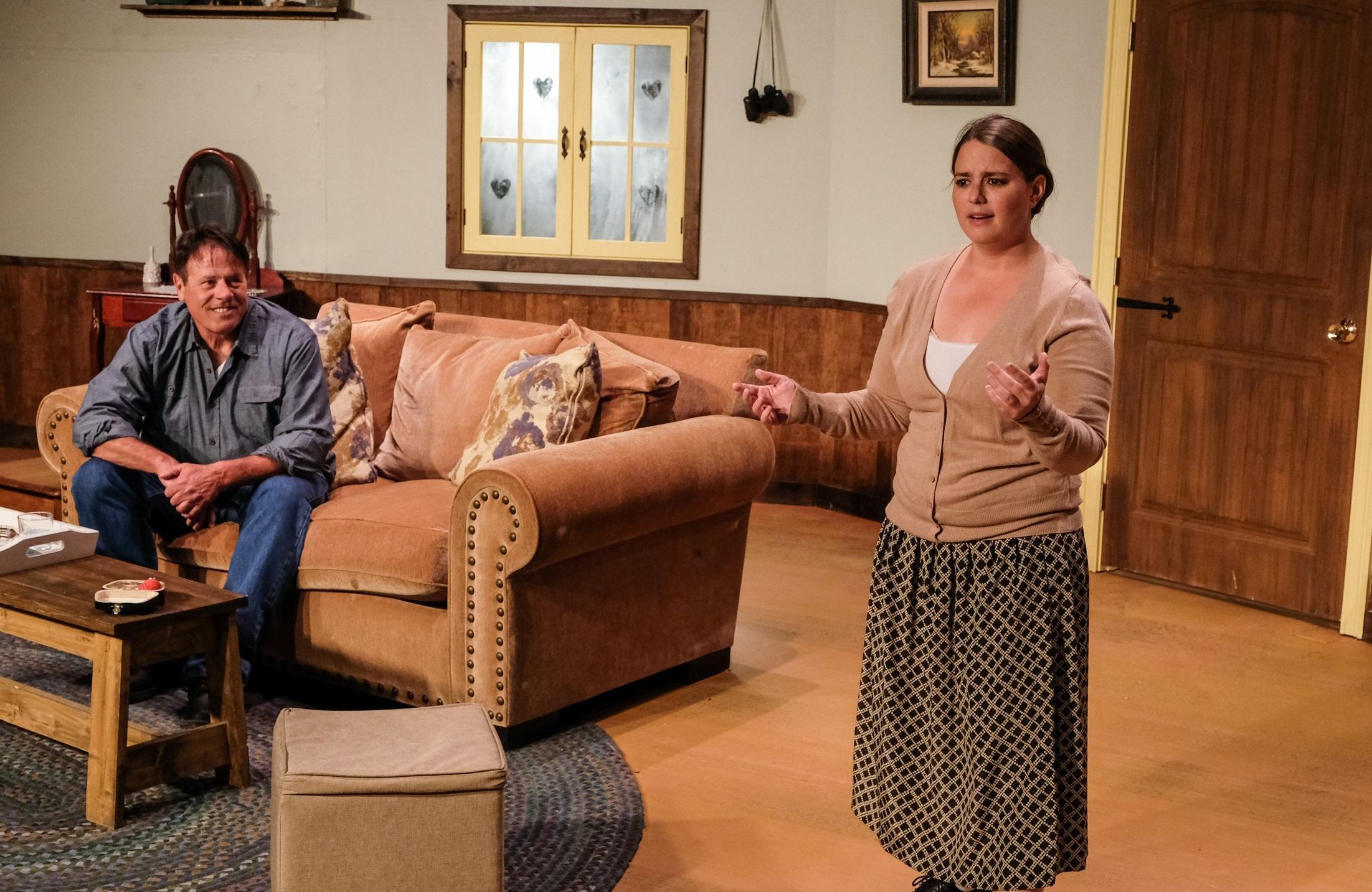 Return Engagements, Scripps Ranch Theatre, 2019  Photo: Ken Jacques