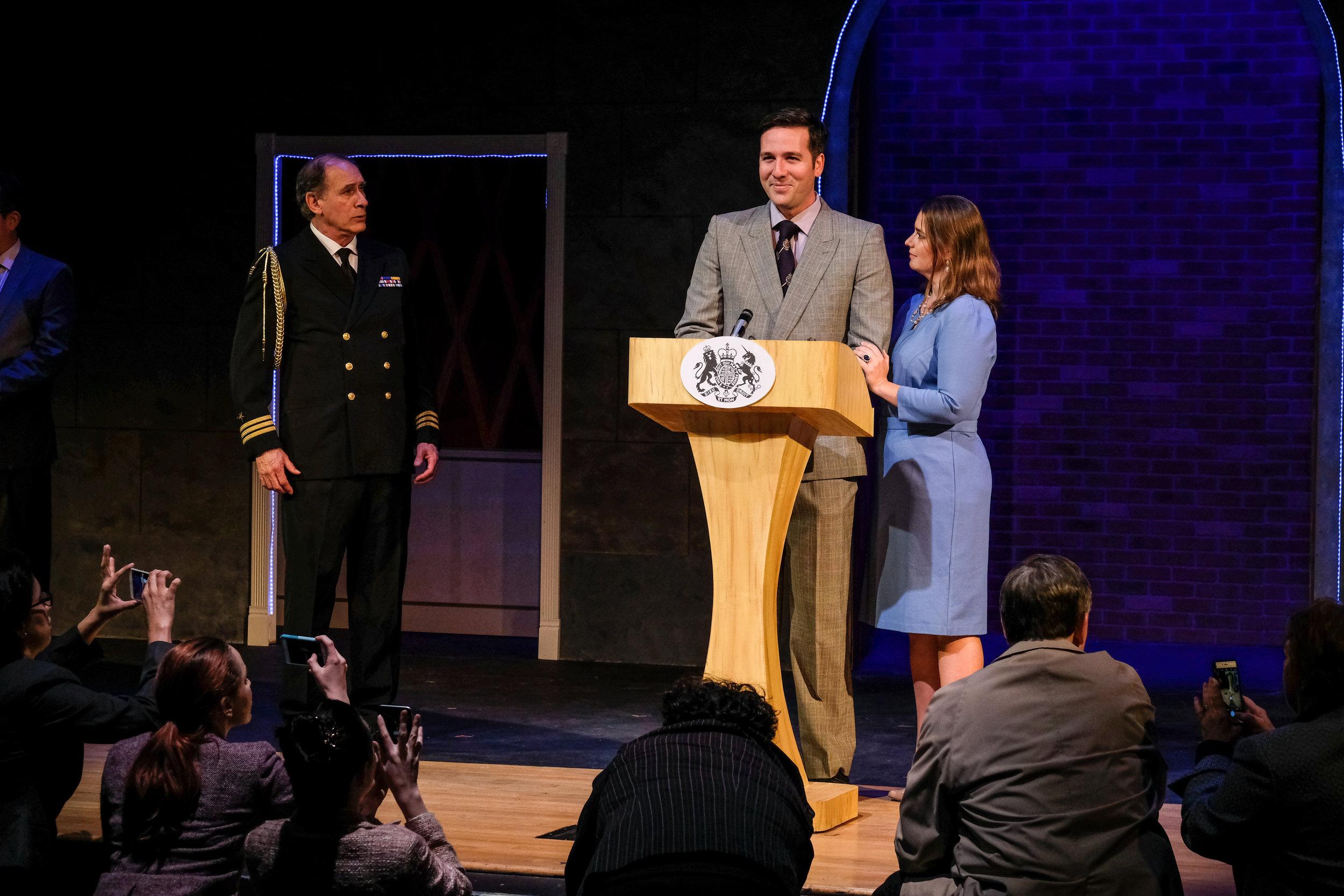 King Charles III, Coronado Playhouse, 2018  Photo: Ken Jacques