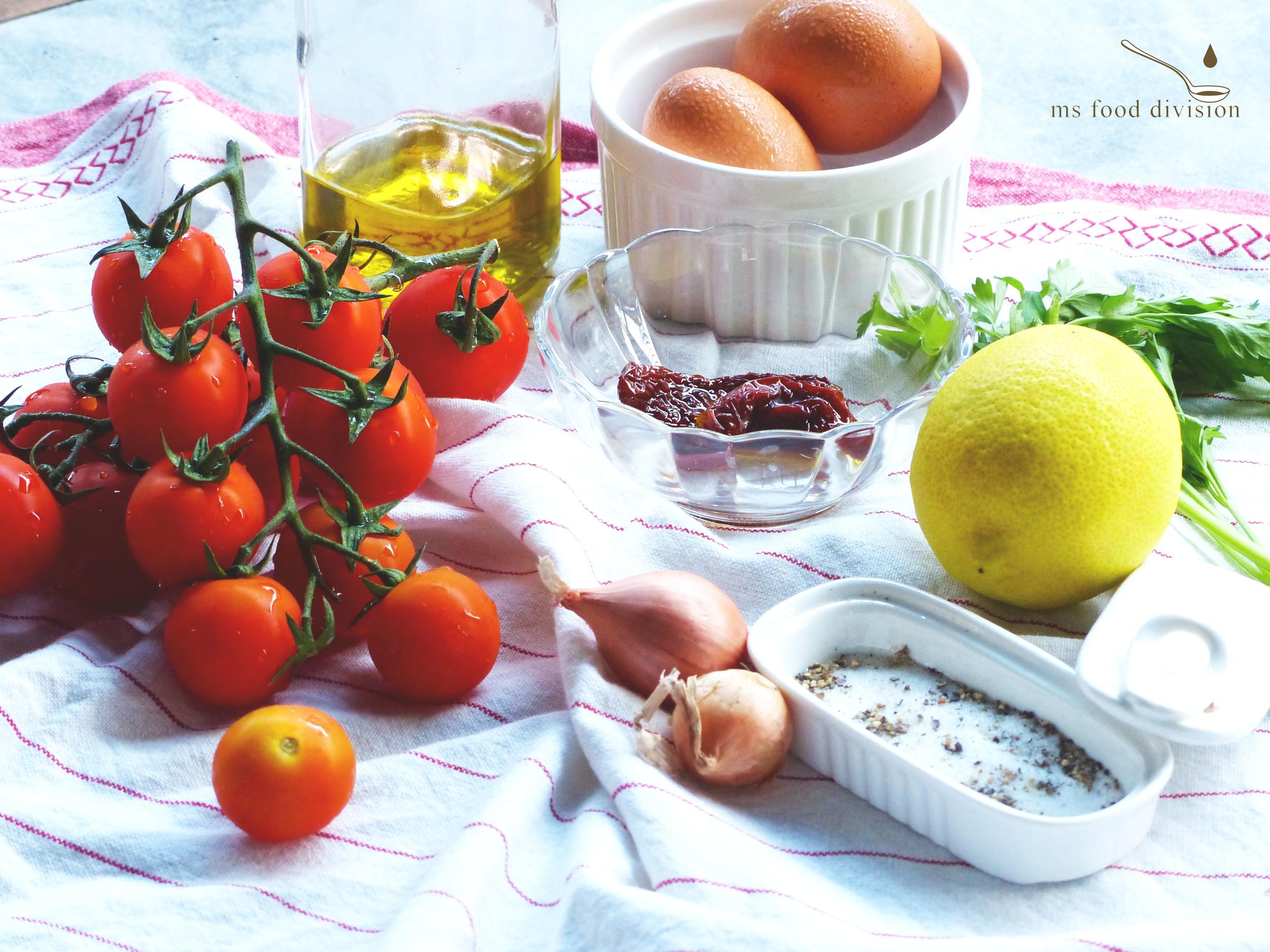 today's easy brunch ingredients