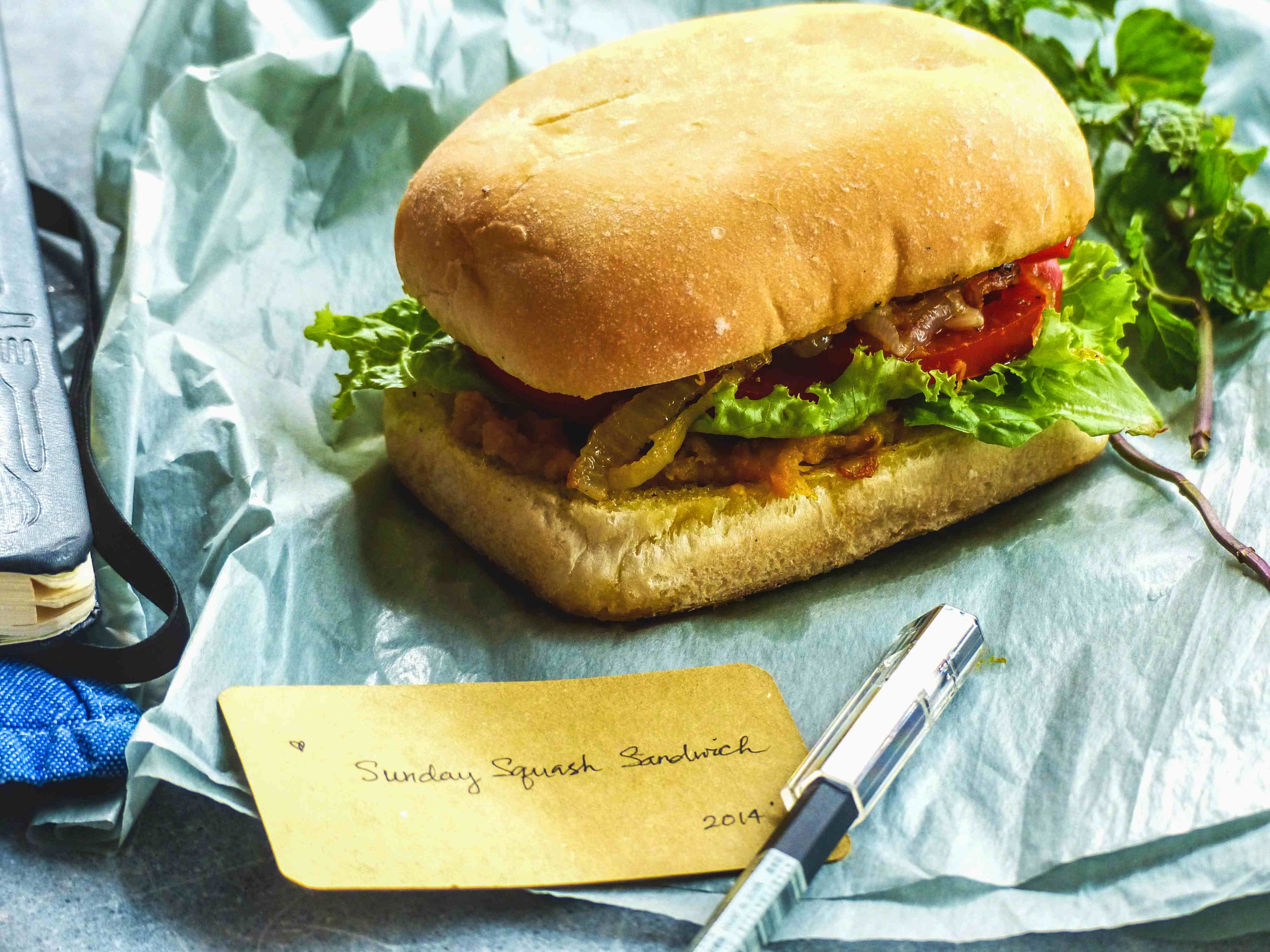 an easy sandwich that is packed with flavors...