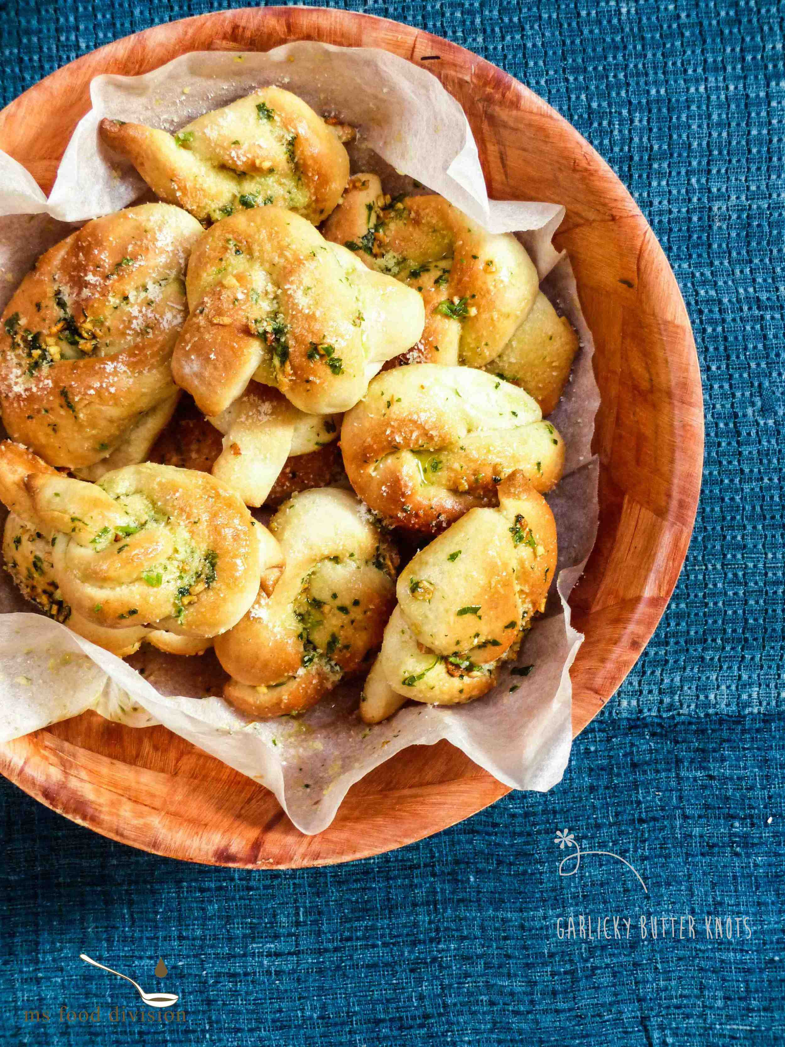 These little garlicky and buttery knots are fairly easy to make. If you love pretzels, then you'll not be disappointed by these knots.