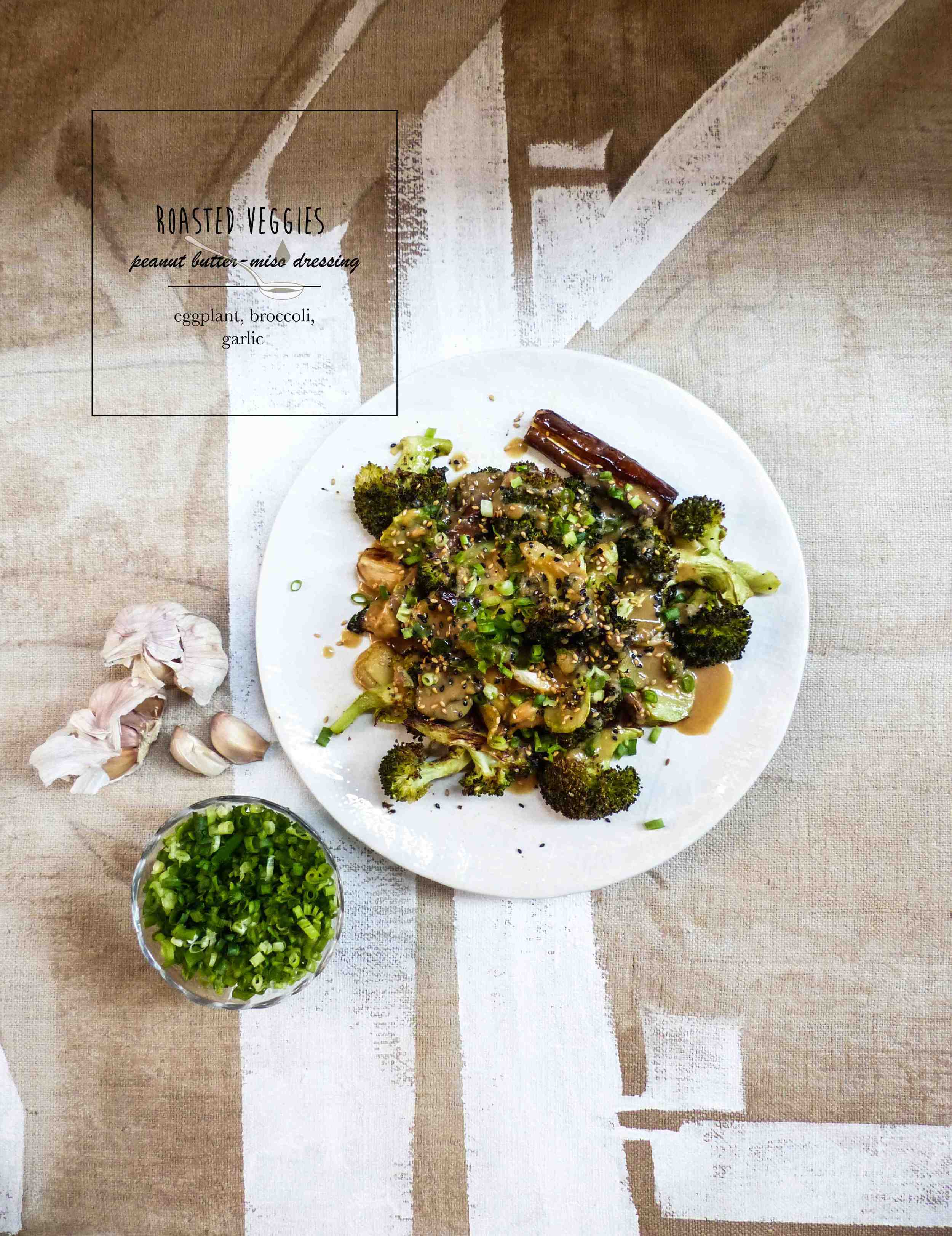 roasted eggplant & broccoli with peanut butter miso sauce.jpg