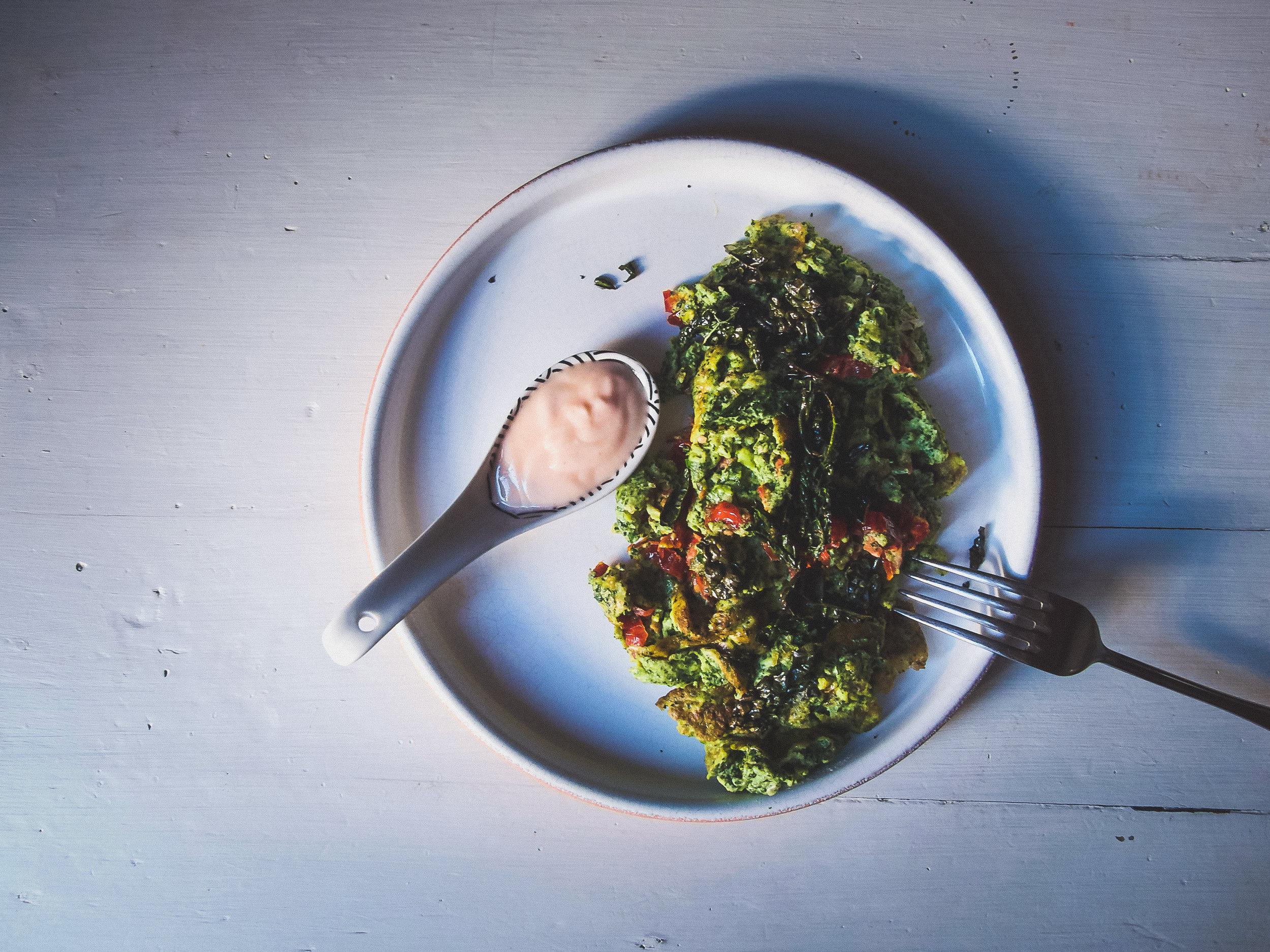Kale Egg Scramble