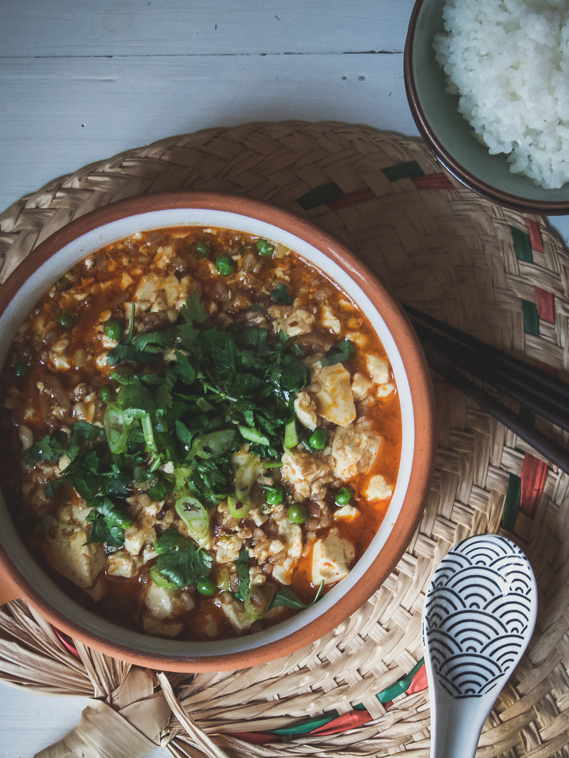 Mapo Tofu (The vegan version)