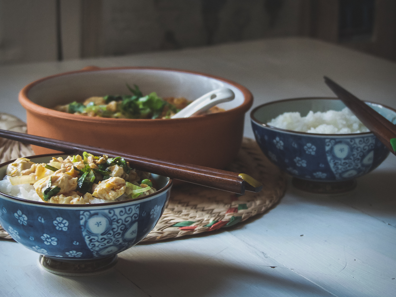 Mapo Tofu (The vegan version) - serve with a bowl of white rice to get the best out of this wonderful tofu dish
