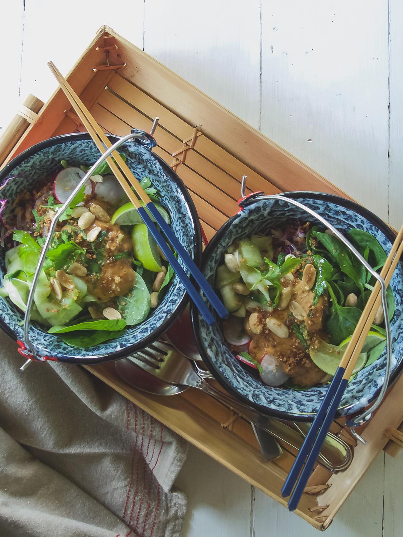 Asian Summer Vermicelli Salad
